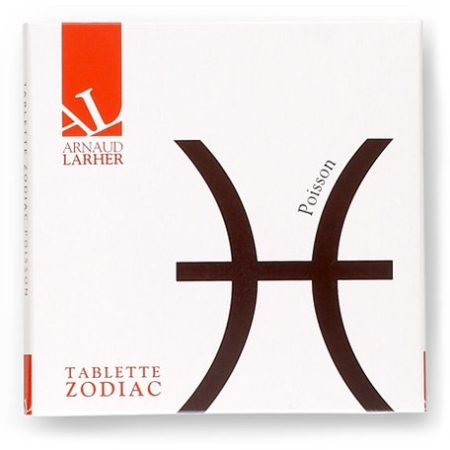 Tablette Zodiac chocolat noir POISSON